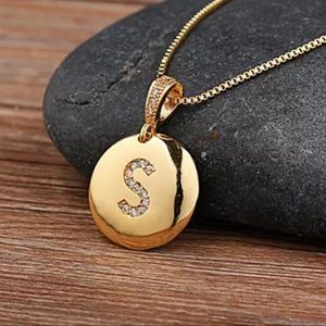 Jewelry - S Initial Gold Necklace